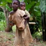 Kinderen Oeganda